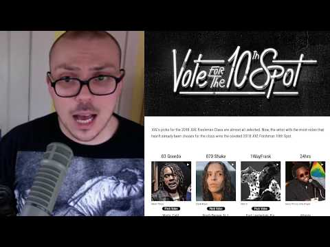 Picking the 2018 XXL Freshman 10th Spot