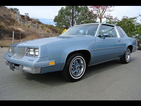 1985 Oldsmobile Cutlass Supreme Coupe Dead Stock Original Classic Youngtimer Sexy Body Music Videos