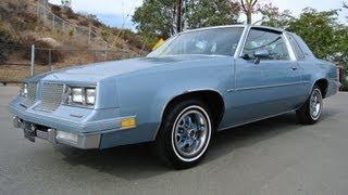 1985 Oldsmobile Cutlass Supreme Coupe Dead Stock Original Classic Youngtimer Sexy Body