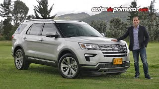 Ford Explorer Limited AWD 2019 | Ahora con motor turbo EcoBoost | Reseña