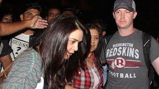 Preity Zinta & husband Gene Goodenough gets MOBBED at airport