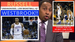 Russell Westbrook(OKC) Has A Low Basketball IQ! Rotting Legacy! First Take Max/Stephen [Commentary]