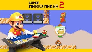 SUPER MARIO MAKER 2 | Campanha #3 - Funcionários Insatisfeitos com a Chefia!
