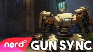 Overwatch Song | Tank Mode (Bastion Song) | Gun Sync [by Flying Cucumber] #Nerdout