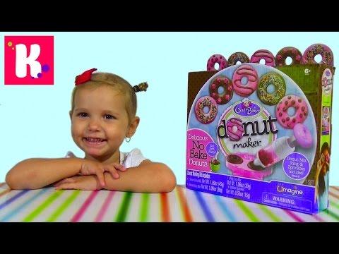 Донат мэйкер набор для приготовления сладких пончиков Donut maker unboxing set