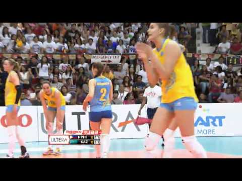 U23: Philippines vs. Kazakhstan Set 1