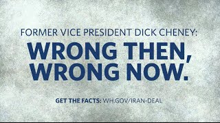 Vice President Dick Cheney: Wrong Then, Wrong Now