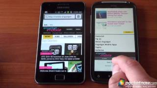 Galaxy S 2 vs. HTC Sensation
