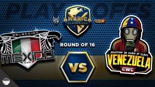 """OFICIAL Octavos de FINAL """"México vs Venezuela"""" America Clash Cup"""