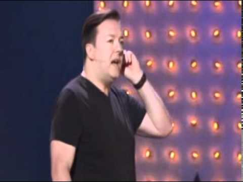 Ricky Gervais - Being Fat is Not a Disease