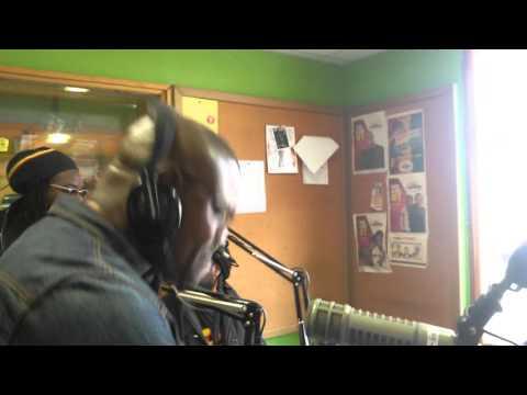 Morgan Heritage In The Radio Jambo Studio Part 1