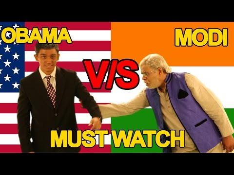 Narendra Modi Vs Barack Obama Rap Battle