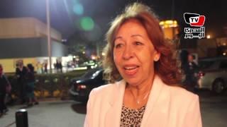 آمال عبد الهادي تتحدث عند دورها في فيلم «باب الوداع»