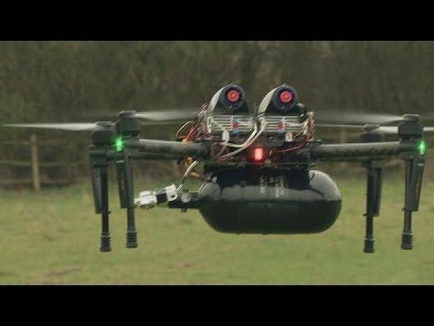 Водородные дроны летают подолгу - hi-tech