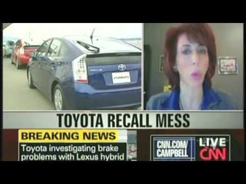 Toyota Recall - Prius Brake Problems: CNN Lauren Fix 2-5-10
