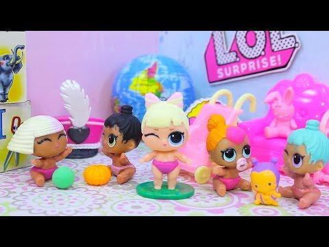 Куклы ЛОЛ Сюрприз Взяли девочку из детского дома   Мультики с игрушками LOL Surprise