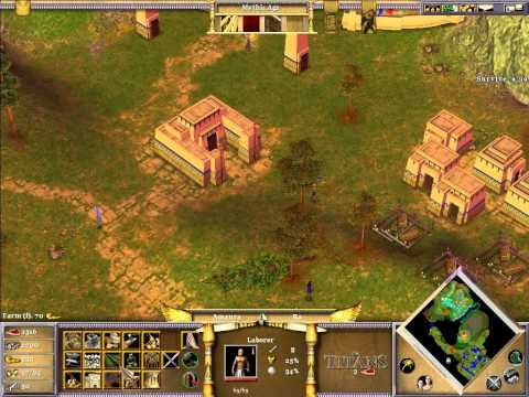 Let's Play Age of Mythology The Titans #7 - Tytani Atakują