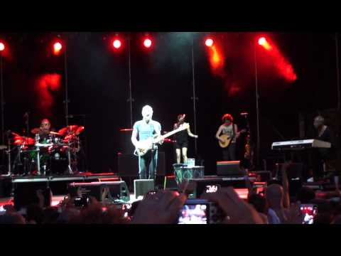 Sting - If I Ever Lose My Faith in You @ Collisioni 2015 Italy