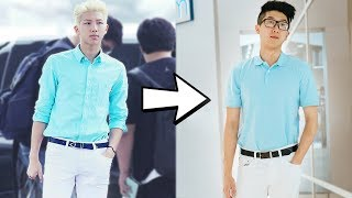 I Dressed like RM from BTS for a Day