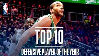 Rudy Gobert's Top 10 Defensive Plays of the Regular Season