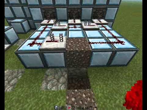 Minecraft Огнемёт из раздатчиков - YouTube