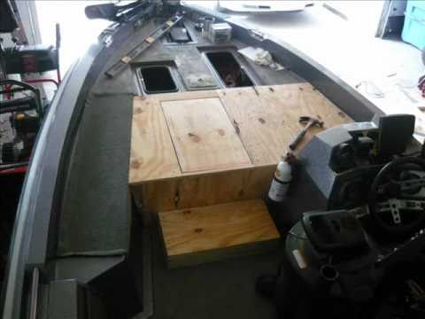 Bass boat restoration project 30 day face lift youtube for Replacing interior boat carpet