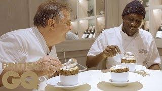 Stormzy and Raymond Blanc make pistachio soufflé   British GQ