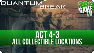 Quantum Break Act 4-3 Collectibles Locations (Swimming Pool 2010)
