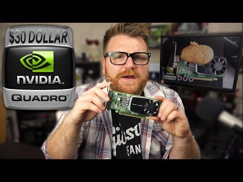 nVidia Quadro 600 Review - What's it good for in 2017?