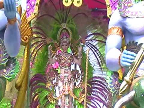 Mileydis Vargas Diosa Laxmi Sabado de Carnaval Calle Arriba de Las Tablas
