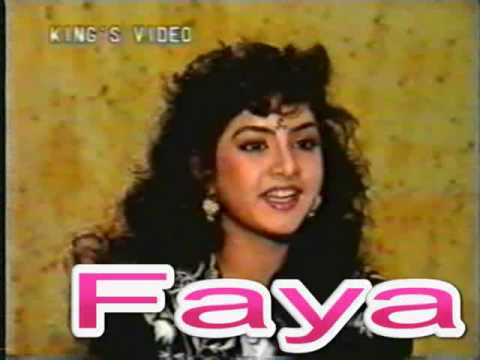 Divya Bharti - Live Interview Before Death video