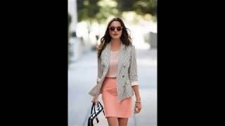 Stylish summer outfit combinations to wear at work