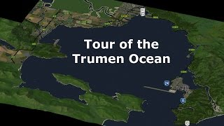 U-Drive it Tour - Around the Trumen Ocean (SimCity 4)
