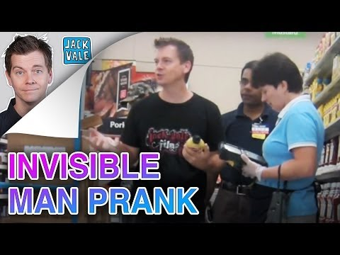 Invisible Man Prank video
