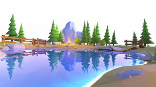 Lowpoly Water Shaders V2.0 for Unity - Loop