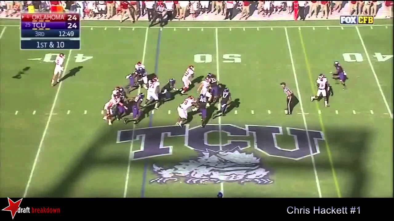 Chris Hackett vs Oklahoma (2014)