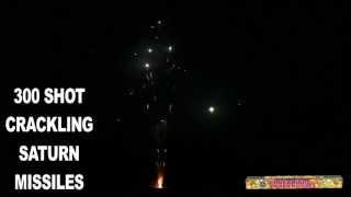 300 Shot Crackling Saturn Missiles