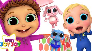 Pop Goes The Weasel   Baby Brother Adventure   Learn Colors