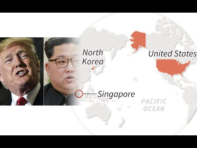 Trump and Kim to meet in Singapore in June 2018