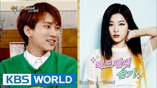 "BTOB Eunkwang, ""Redvelvet Seulki is my ideal type"" [Happy Together/2016.08.11]"