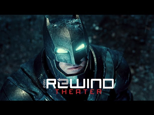 Batman v Superman Dawn of Justice - Rewind Theater