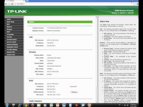 Configuracion TP LINK Bloquear Paginas