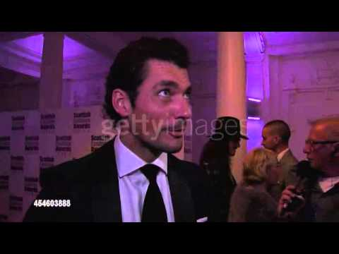 David Gandy on investments, designers and kilts at the Scottish Fashion Awards (01/09/2014)