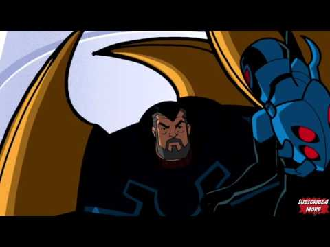 Batman Comes To Rescue Blue Beetle (Batman The Brave And The Bold)