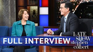 Full Interview: Sen. Amy Klobuchar Talks To Stephen Colbert