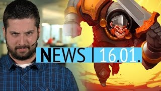 Hurra, Michi ist wieder da - Neues Spiel der Trine-Macher Has-Been-Heroes - News