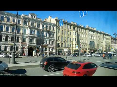 Автобусная экскурсия по Санкт- Петербургу 1 часть