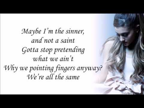 Ariana Grande feat. Big Sean - Best Mistake (with Lyrics)