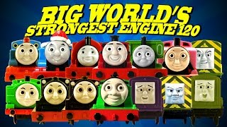 Thomas and Friends Toys 120 BIG World's Strongest Engine Trackmaster Trains