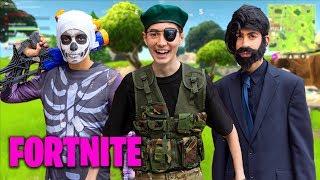 OMG! I went into Fortnite!! (Real Life Battle Royale)